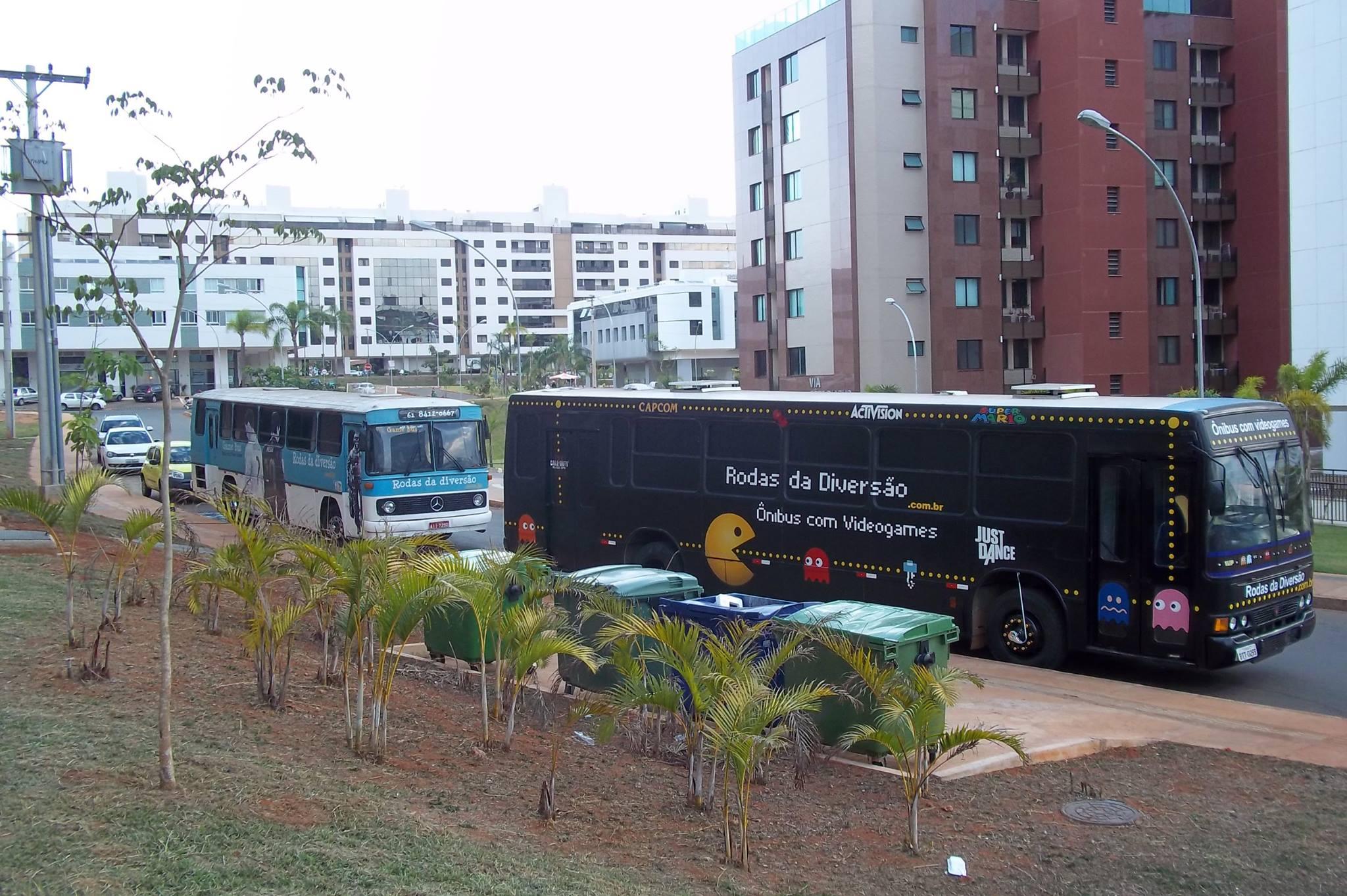 ônibus de festa