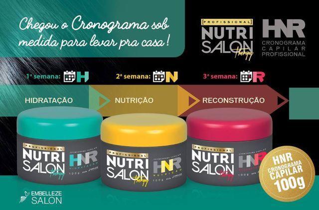HNR - NutriSalon Máscara de Tratamento Reconstrução