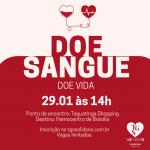 TGS Solidário - Doe Sangue, doe Vida