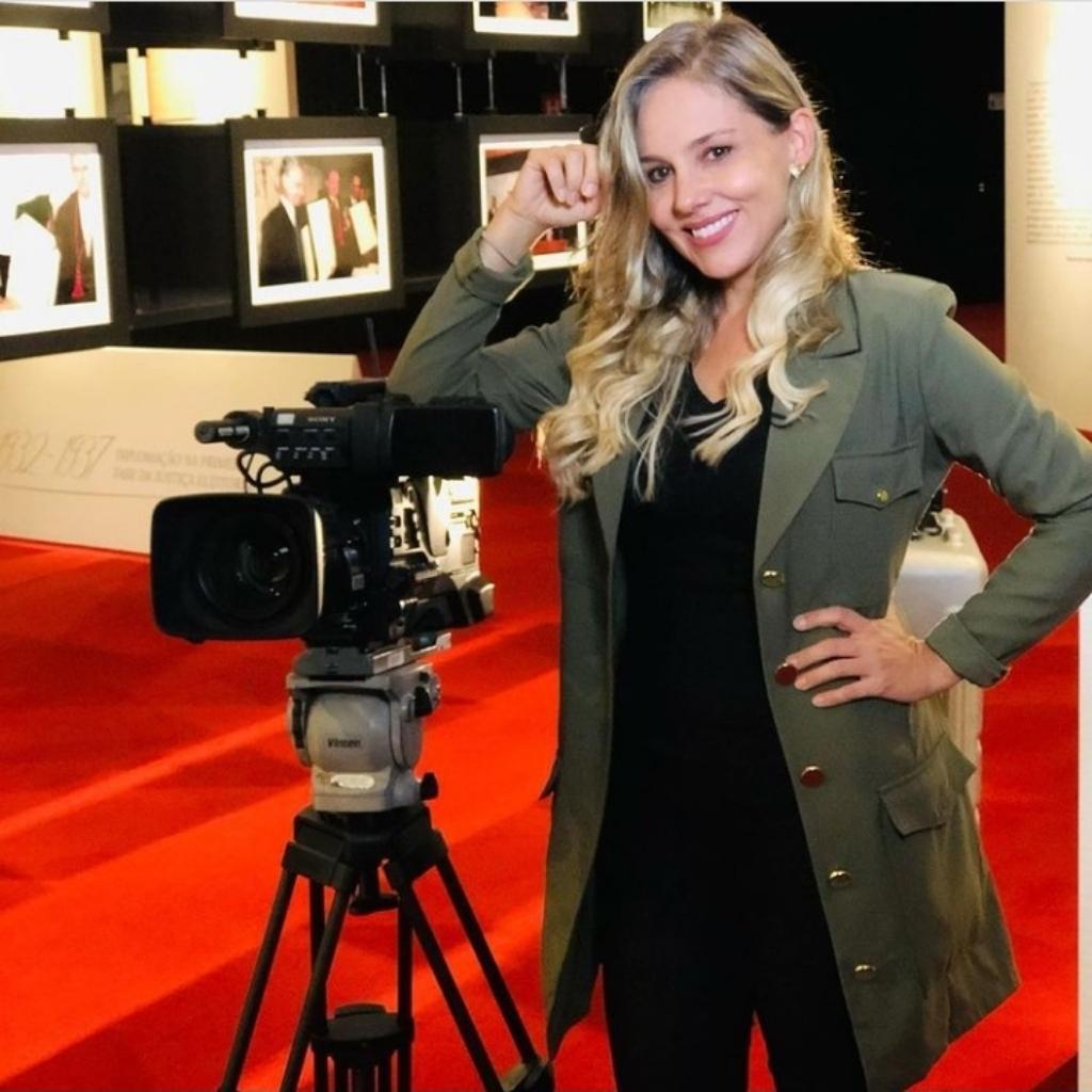 Vanessa Lima - Apresentadora e Repórter