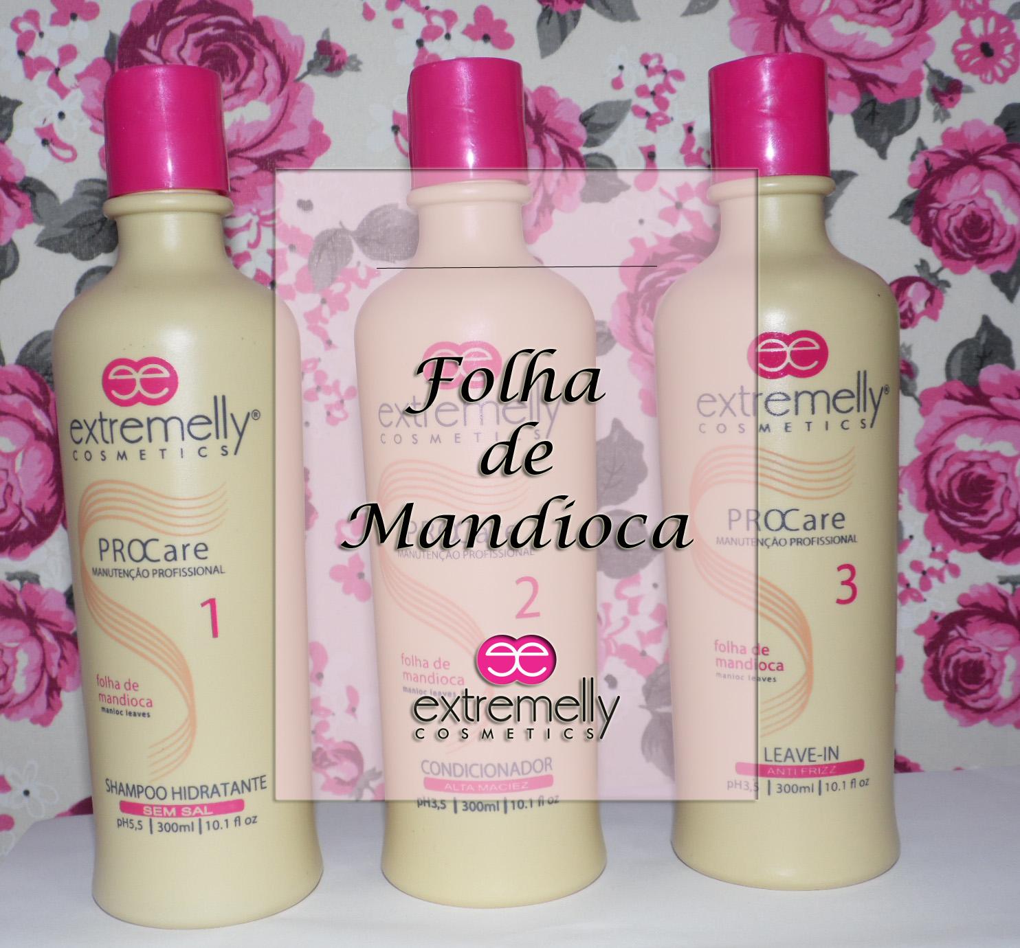 Folha de Mandioca - Extremelly Cosmetics
