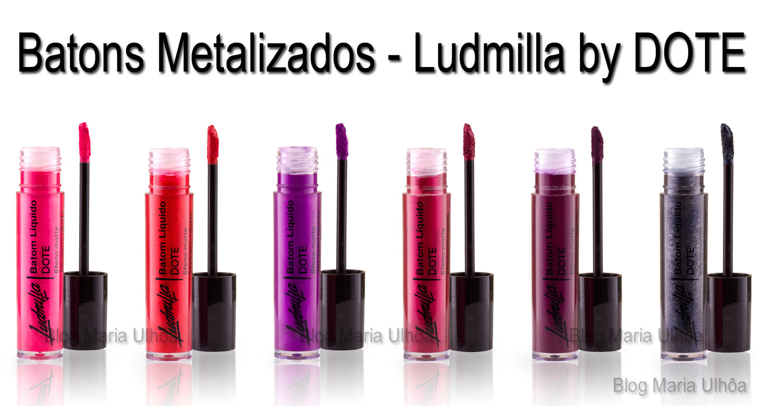 Batons metalizados Ludmilla by Dote