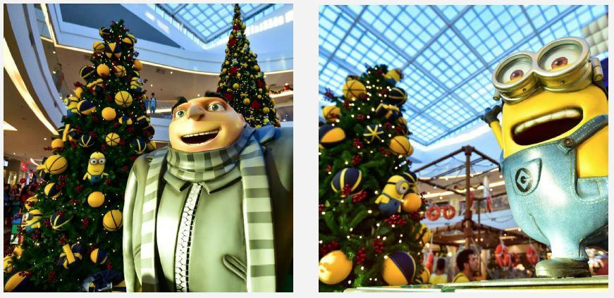 Meu Malvado Favorito será o tema do Natal do Conjunto Nacional