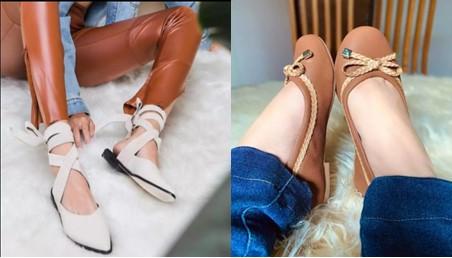 Sapatilhas calçado preferido das mulheres