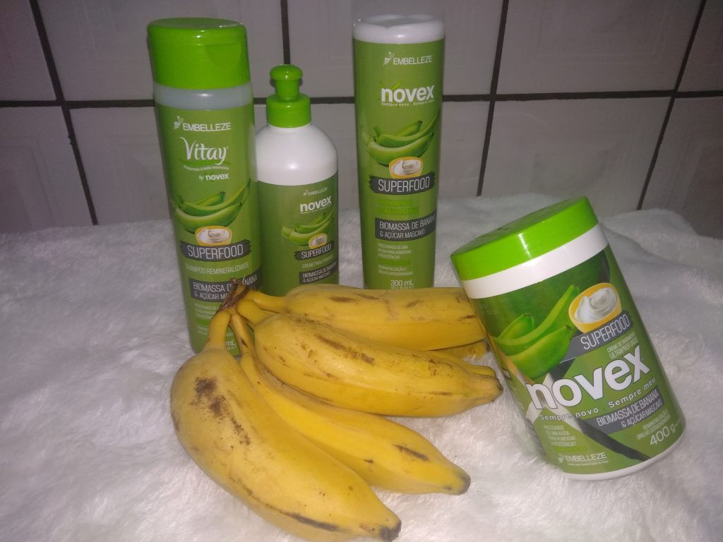 Novex - Superfood Biomassa de Banana e Açúcar Mascavo